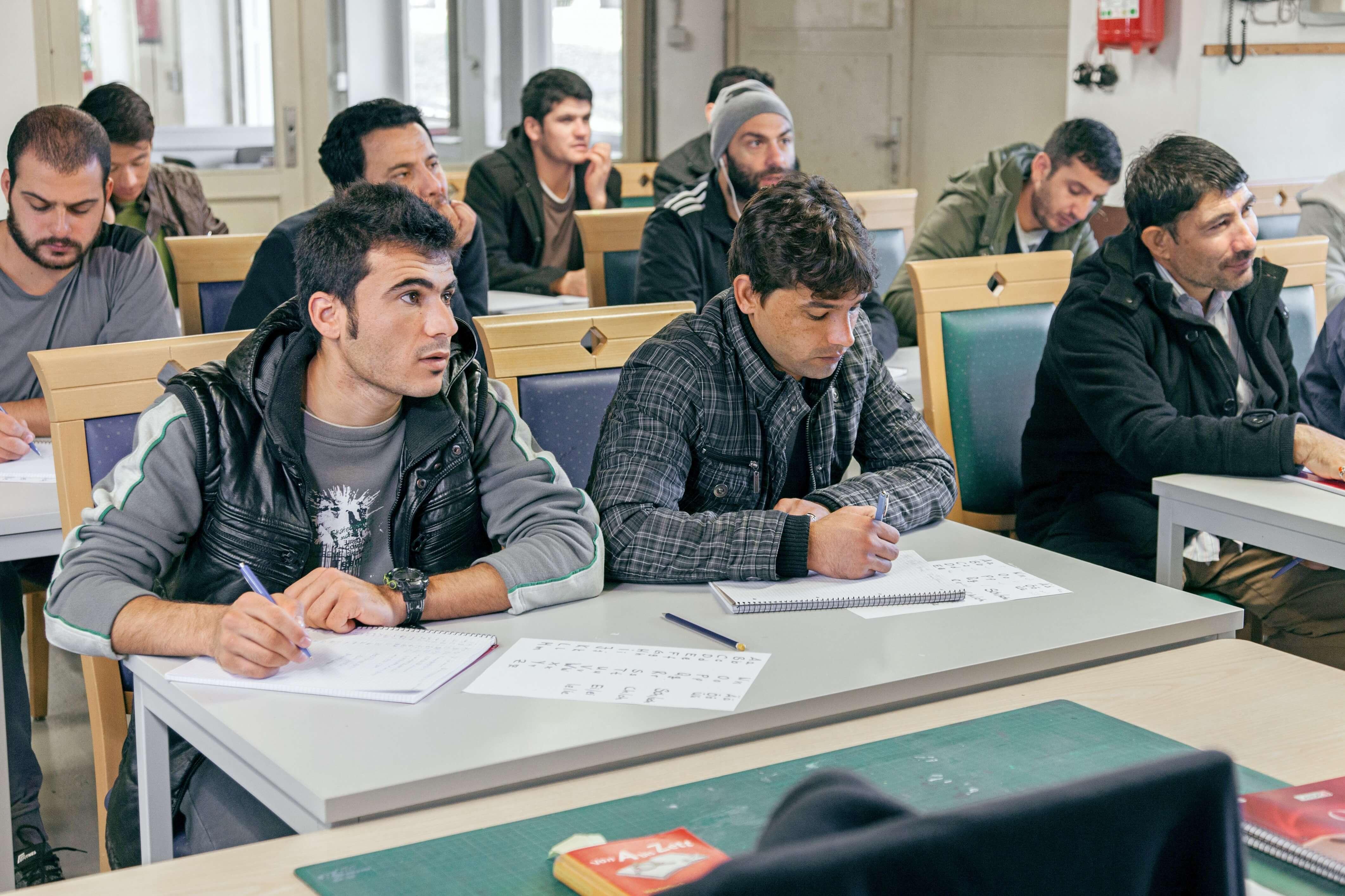 Die Johanniter setzen sich für die berufliche Integration von Menschen mit Flucht- oder Migrationserfahrung ein.