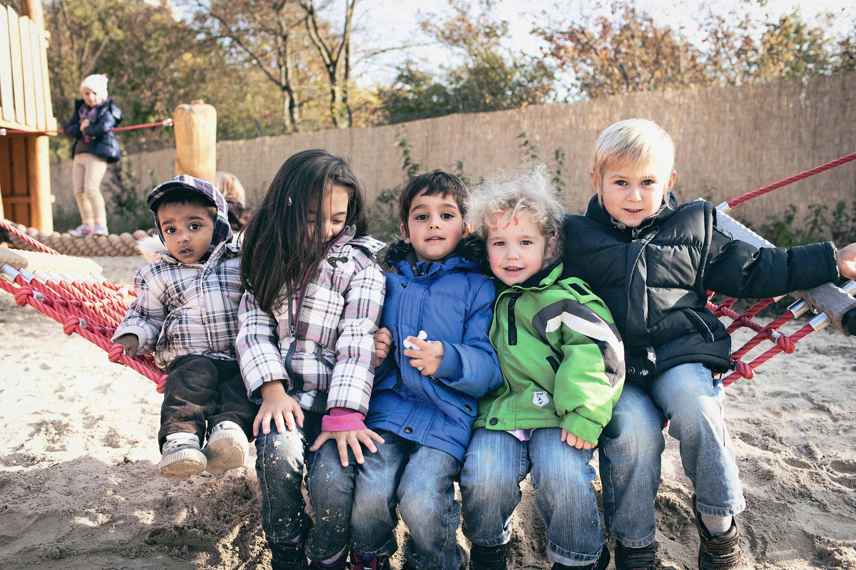 Die Kindertagesstätten der Johanniter setzen auf Wertschätzung, Fürsorge und Respekt.