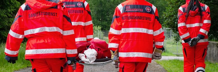 Katastrophenschutzhelfer in Bayerisch Schwaben