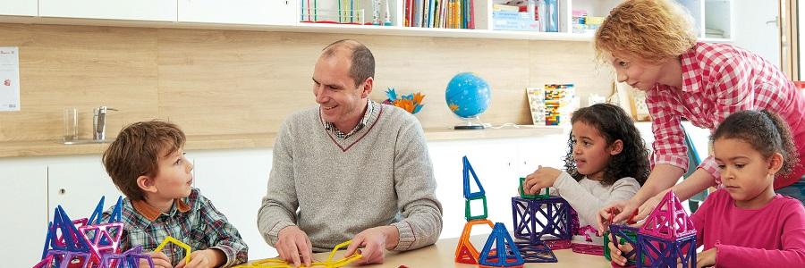 In familiärer Atmosphäre lernen Kinder gerne und gut.