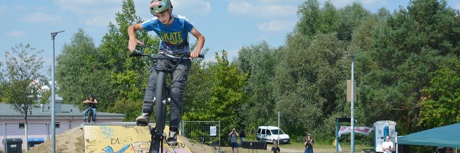 Mit viel Übung dank der BMX AG klappt jeder Sprung besser.