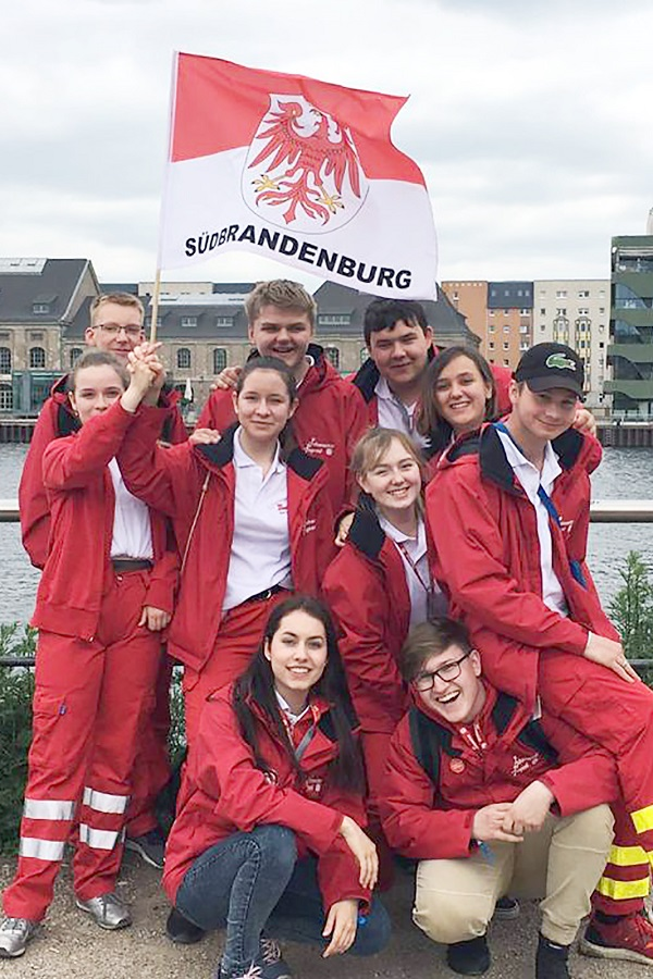 Das Johanniter Jugend Team