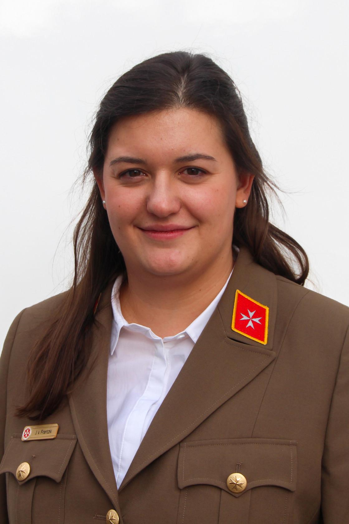 Bundesjugendleiterin Julia von Frantzki