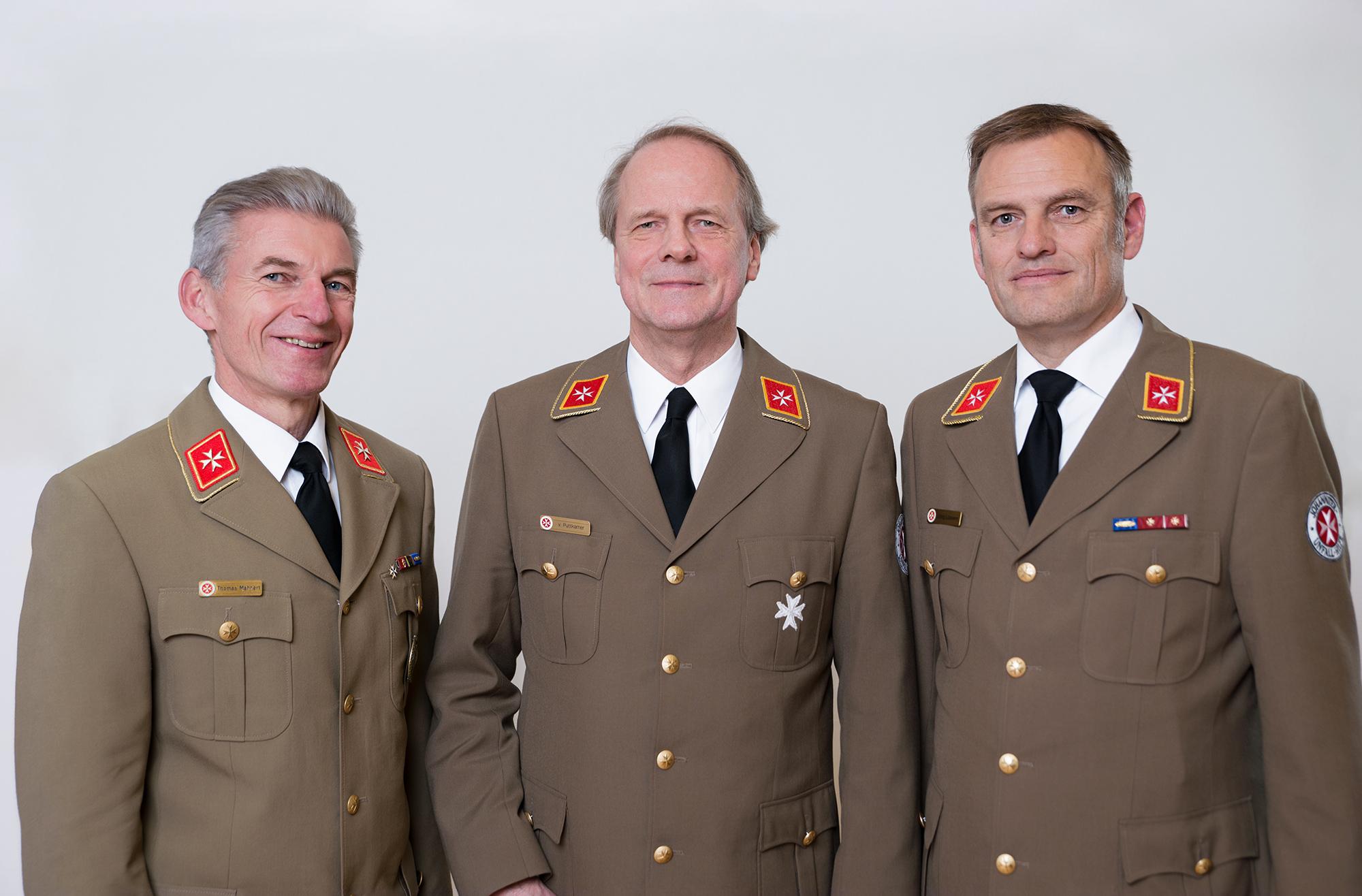 Thomas Mähnert, Hubertus v. Puttkamer, Jörg Lüssem