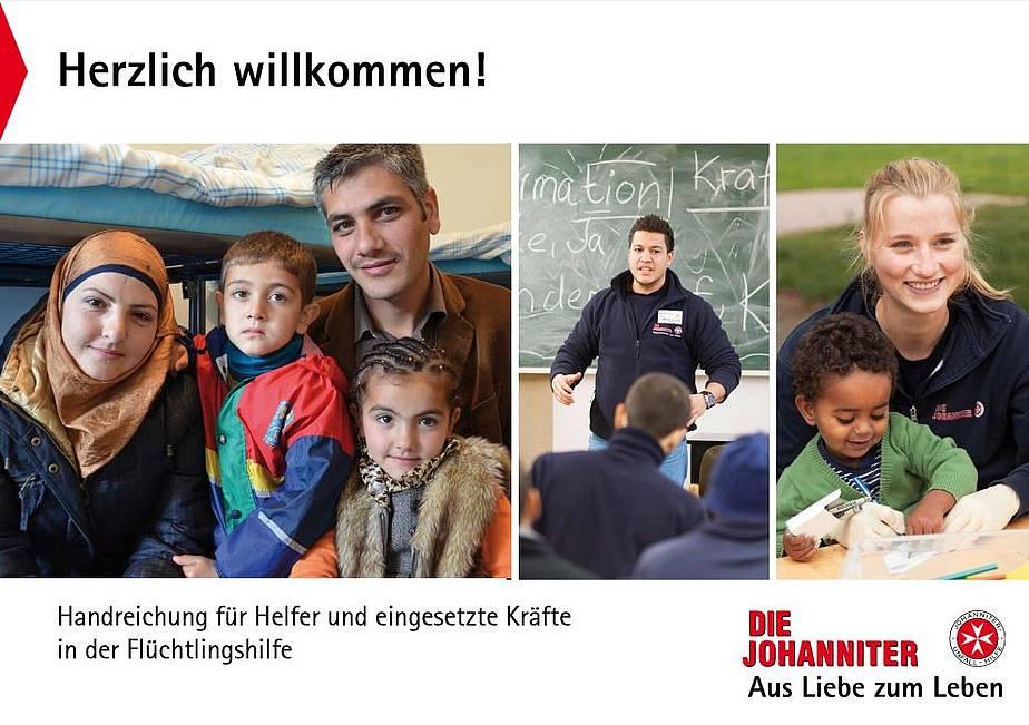 """Handreichung """"Herzlich Willkommen"""""""