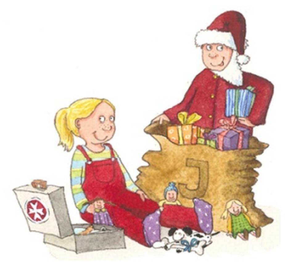 Jona und Joni feiern Weihnachten