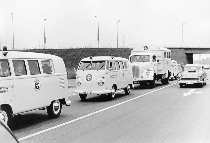 Ein Katastrophenschutzzug aus dem Jahr 1970.