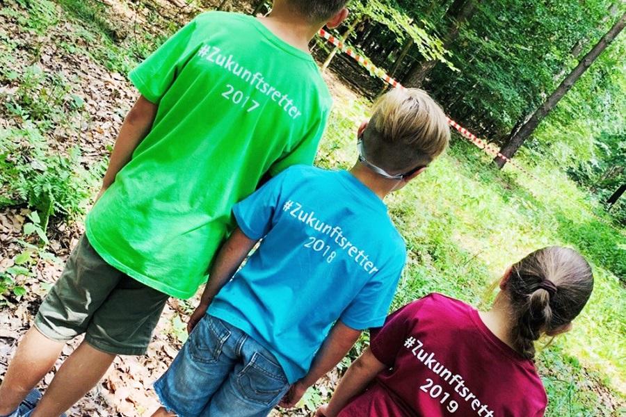 Drei Generationen #Zukunftsretter gibt es schon!
