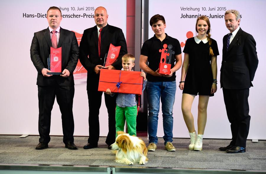 Preisträger des Hans-Dietrich-Genscher-Preis 2015