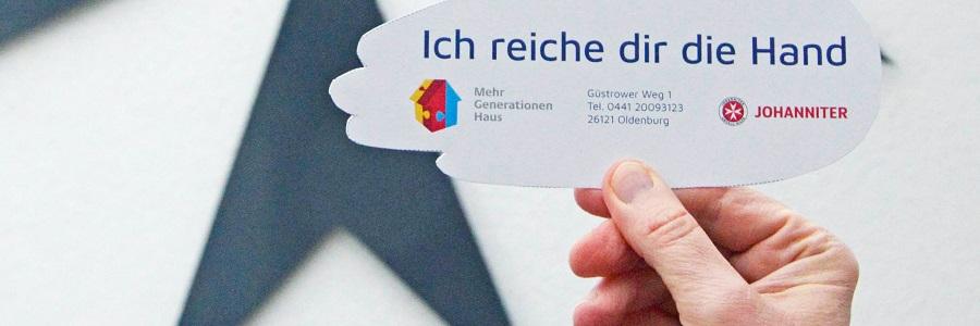 Das Mehrgenerationenhaus in Oldenburg bietet gemeinsame Aktivitäten unabhängig von Alter und Herkunft.