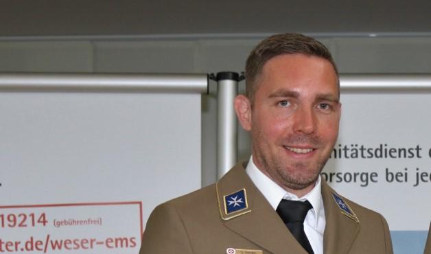 Sebastian Sendler, Ortsbeauftragter der Johanniter in Lingen.