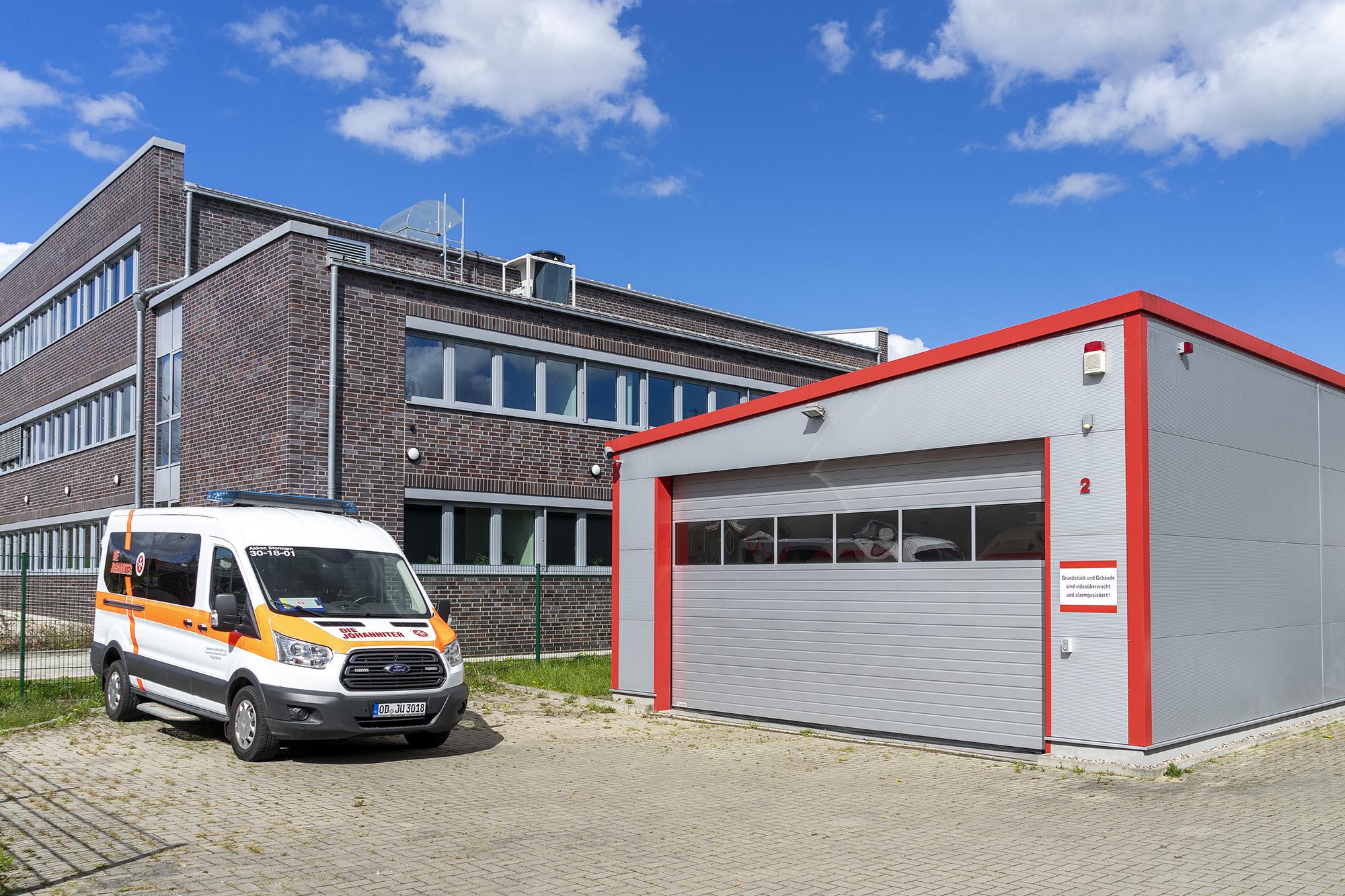 Dienststelle der Johanniter-Unfall-Hilfe in Bad Oldesloe