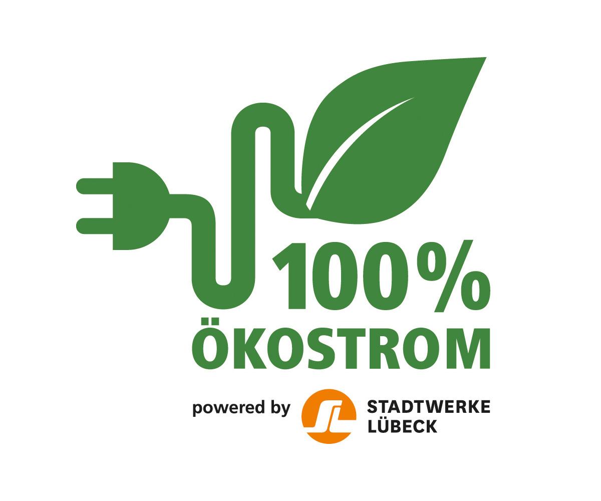 Ökostrom powered by Stadtwerke Lübeck