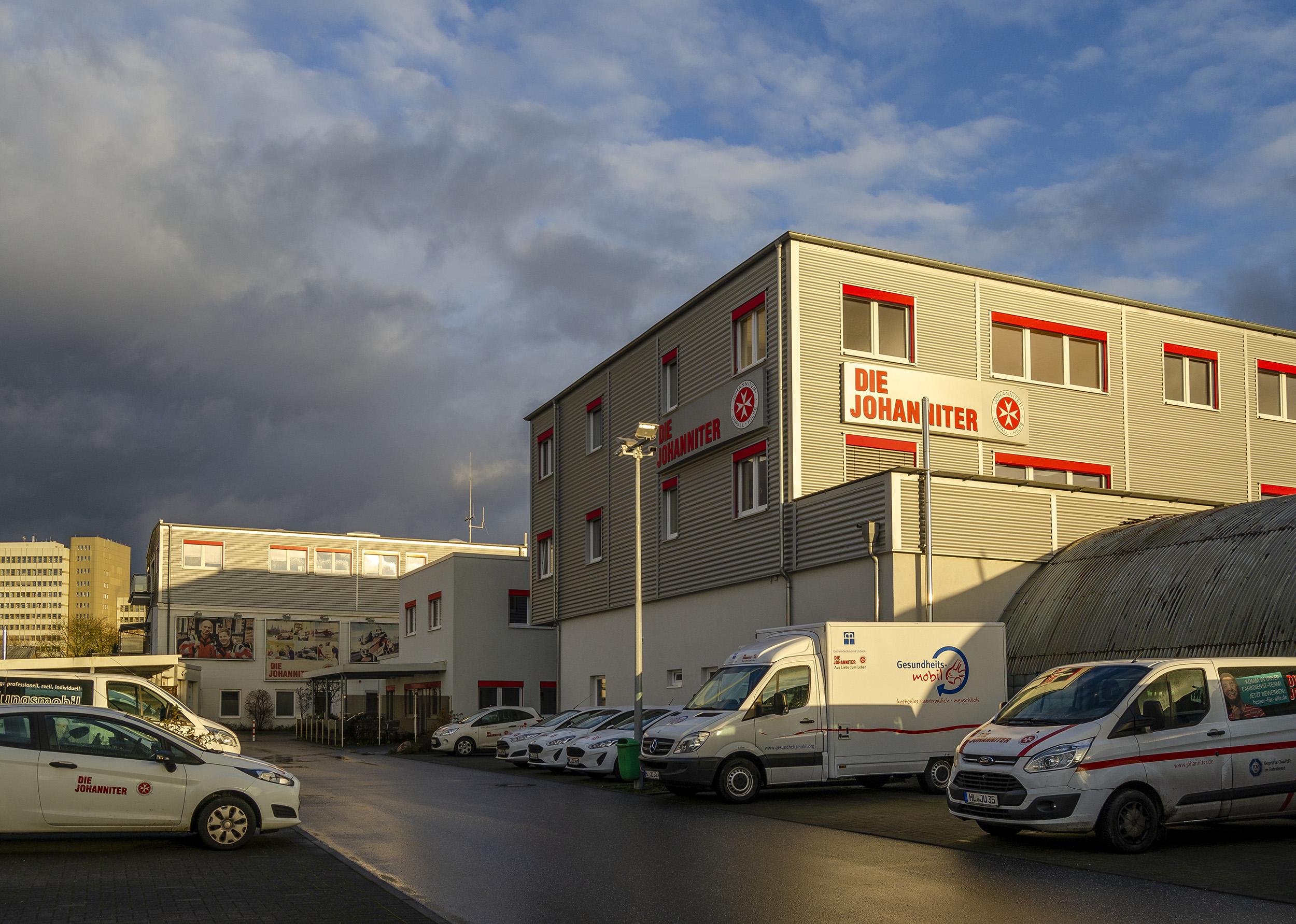 Die Lübecker Geschäftstelle der Johanniter-Unfall-Hilfe