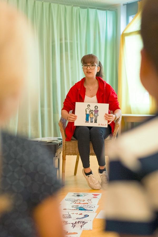 Der Johanniter Regionalverband Dresden vermittelt die Grundlagen der Ersten Hilfe bereits bei Kindern.