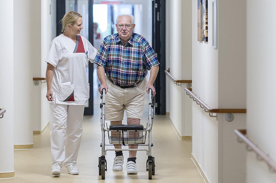 Pflege in der Johanniter-Klinik