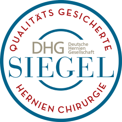 """Siegel """"Qualitätsgesicherte Hernienchirurgie"""""""