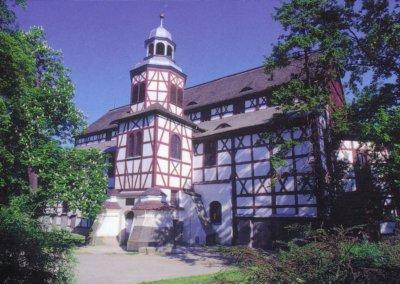 Die evangelische Friedenskirche in Jauer