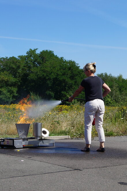 Brandschutzhelferschulung