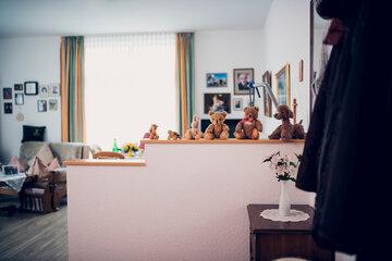 Einblick in ein individuell eingerichtetes Zimmer im Johanniter-Stift in Elze