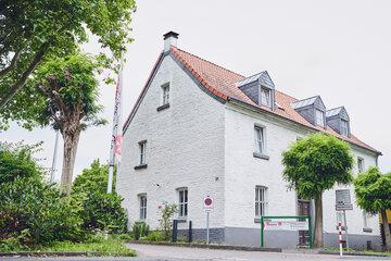 Das Johanniter-Stift Köln-Heuserhof denkmalgeschützte Gebäude.