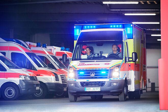 Johanniter Einsatz Rettungswagen
