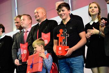Gewinner des Hans-Dietrich-Genscher-Preis und Johanniter-Juniorenpreis 2015