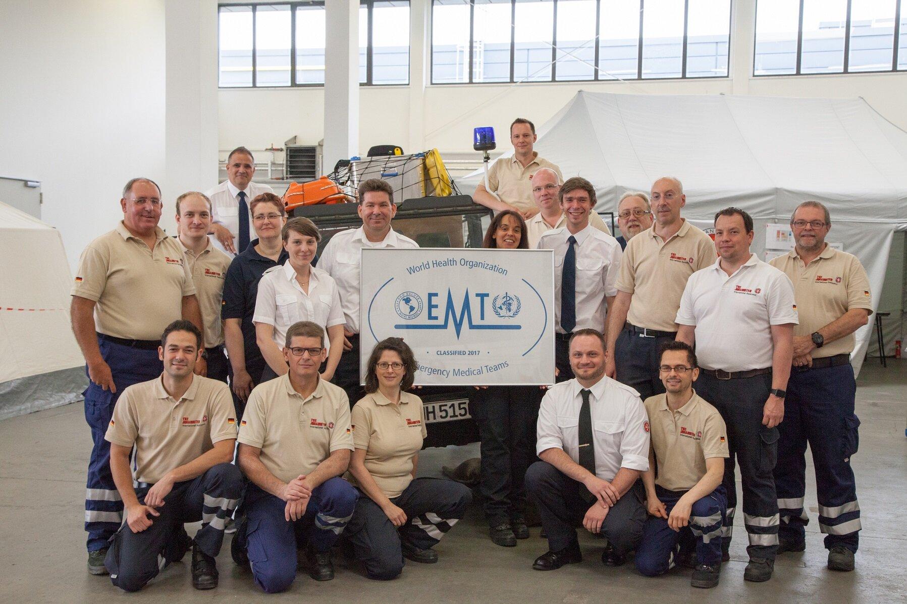 Das EMT Team