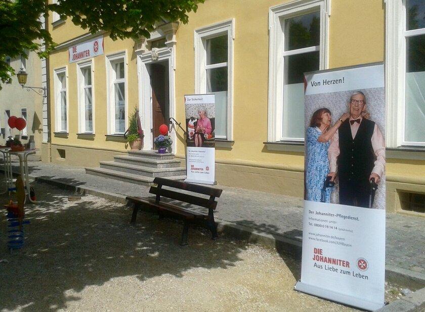 Außenansicht der Johanniter-Sozialstation in Schlüsselfeld