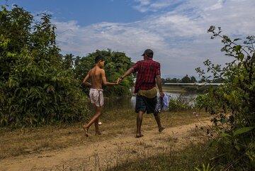 Landminen fordern im südostasiatischen Myanmar fast täglich Opfer