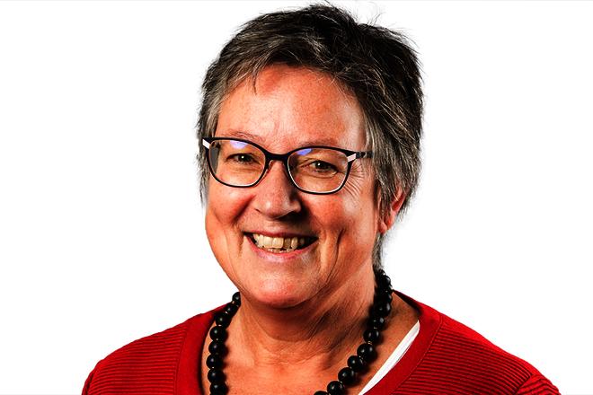 Einrichtungsleiterin Sylvia Jeuthe