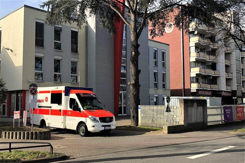 Geschäftsstelle und Rettungswache in Köln-Ostheim