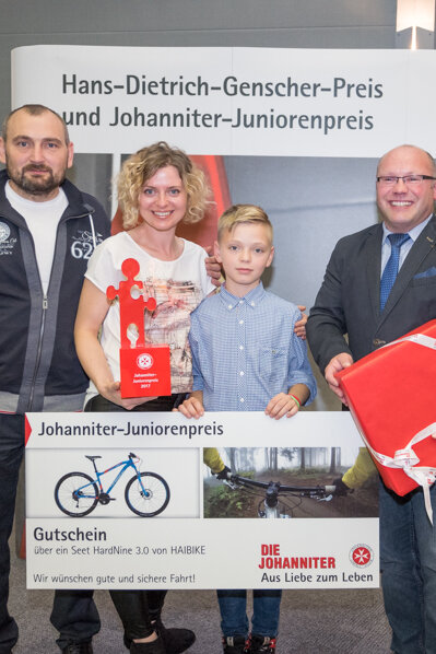 Markus Rud ist Preisträger des Johanniter-Juniorenpreis 2017
