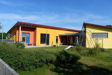 Außenaufnahme Johanniter-Kinderinsel Reckendorf