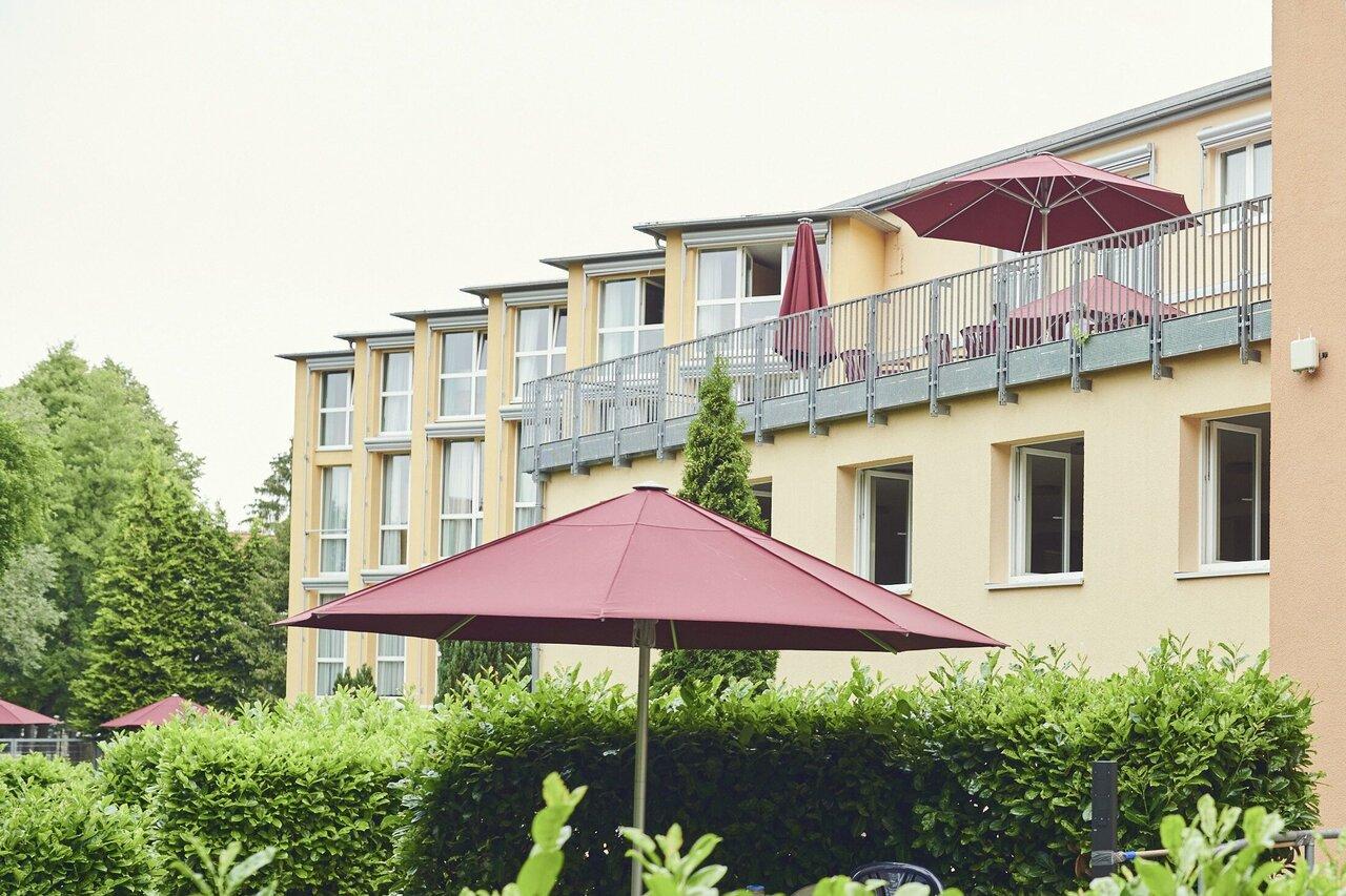 Garten des Johanniterhauses Heiligenstadt in der Albert-Schweitzer-Straße
