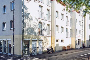 Vorderansicht des Johanniter-Stift Köln Ehrenfeld.