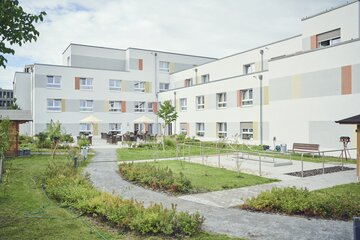 Garten des Johanniter-Stifts Berlin-Johannisthal