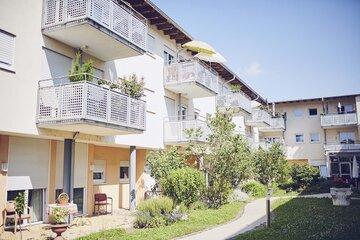 Balkone im Johanniter-Seniorenzentrum im Seniorenstift Heinrich Vetter
