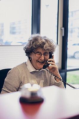 Telefonisch oder persönlich - immer gut empfangen