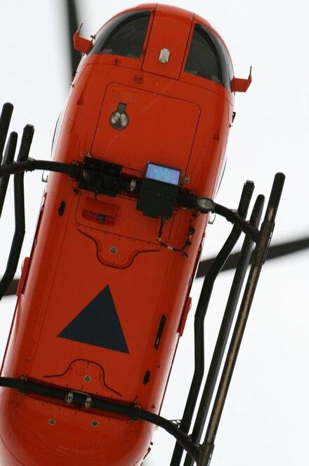 Durchschnittlich 5 Einsätze fliegt der Rettungshubschrauber Christoph 4 am Tag.
