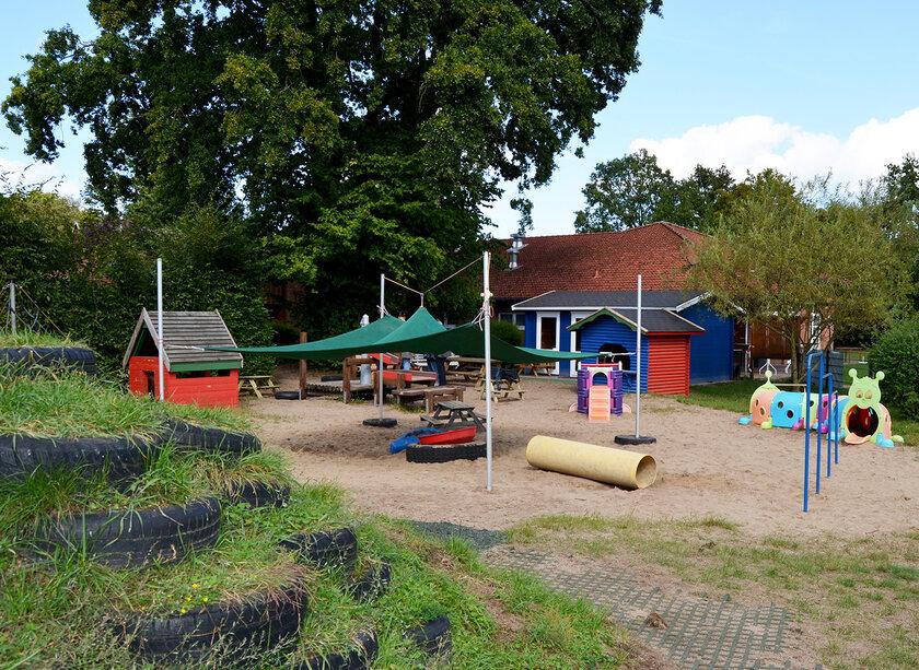 Spielplatz der Kita Schackendorf