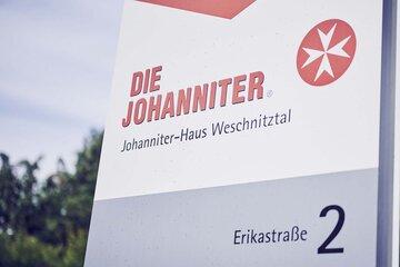 Schild des Johanniter-Hauses Weschnitztal in Rimbach