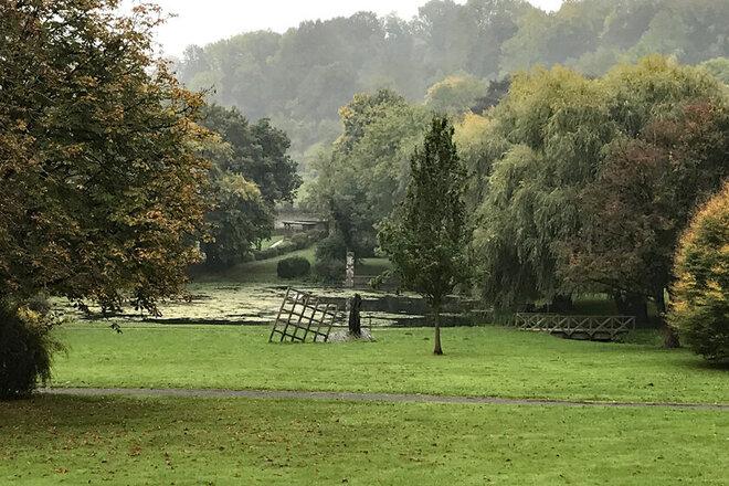 Landschaft des Klosterparks in Lamspringe.