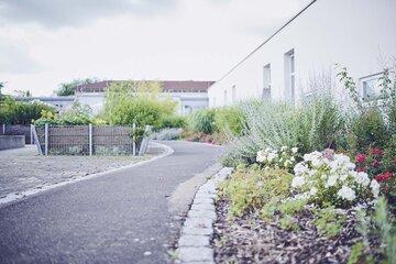 Der Garten des Johanniter-Pflegewohnhauses in Mögglingen