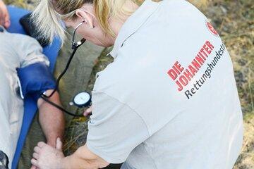 Die Mitglieder der Johanniter-Rettungshundestaffel stehen für den Notfall an 365 Tagen im Jahr rund um die Uhr zur Verfügung.