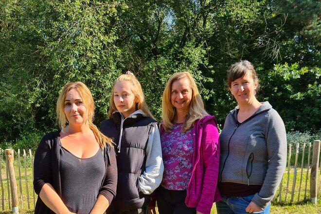 Das neue Team der Johanniter-Naturkita an der Reichen Ebrach in Schlüsselau
