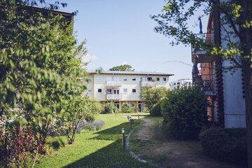 Garten des Johanniter-Seniorenzentrums im Seniorenstift Heinrich Vetter