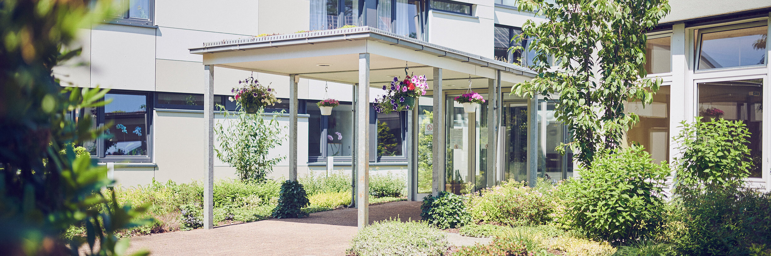 Der Eingangsbereich im Johanniterhaus Celle