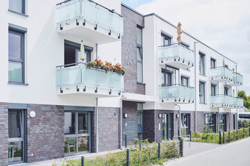 Neu erbaute Stiftungs-Seniorenwohnungen im Johanniter-Stift Kaarst.