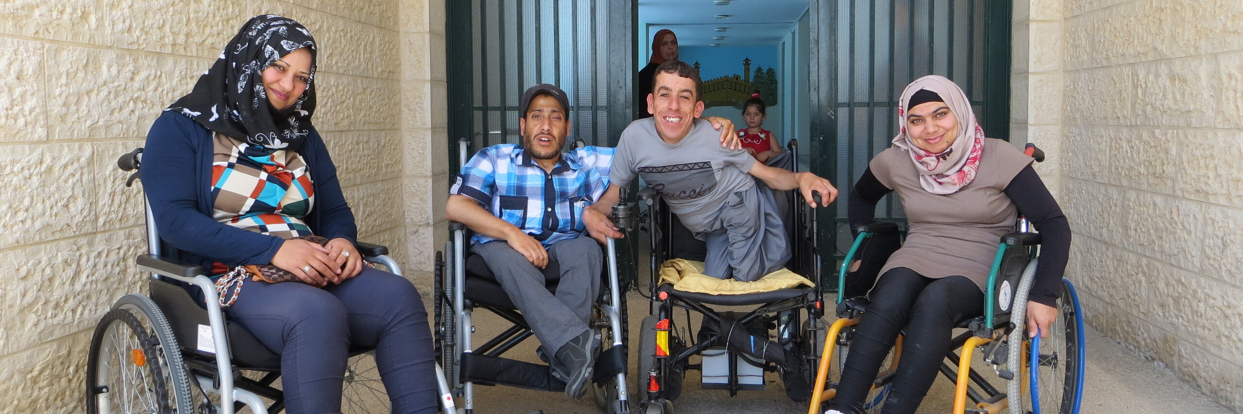 People with disabilities in Palestine